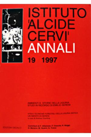 Annali Istituto Cervi 19, 1997