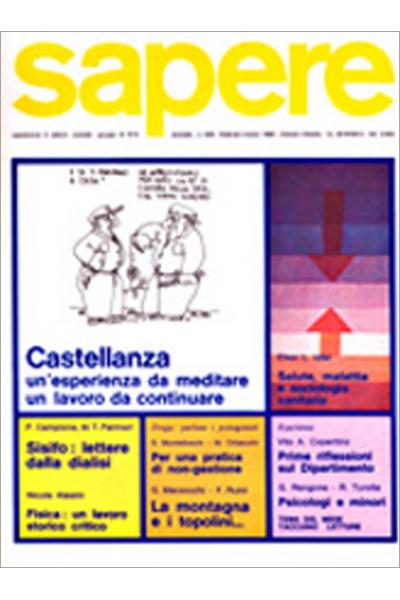 Sapere 845/1982