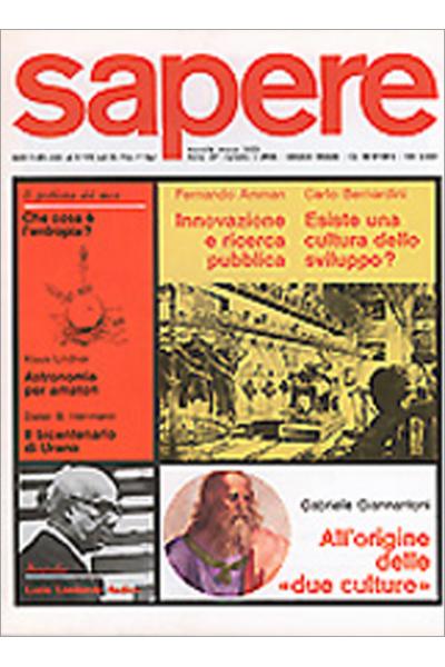 Sapere 3/1983