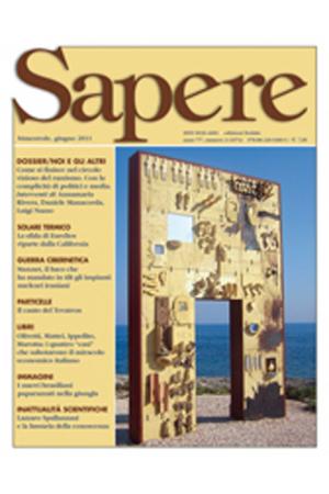 Sapere 3/2011