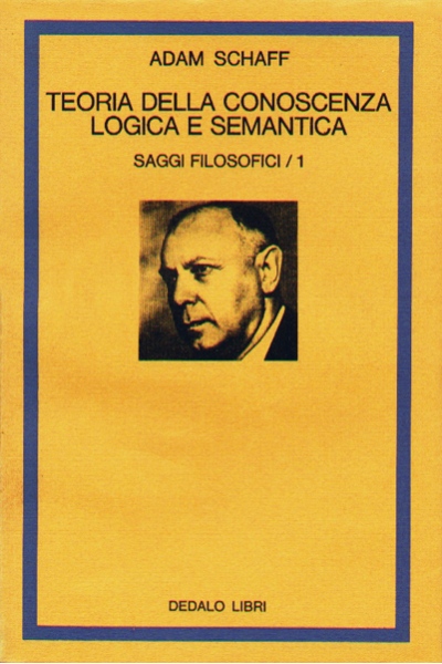 Teoria della conoscenza logica e semantica