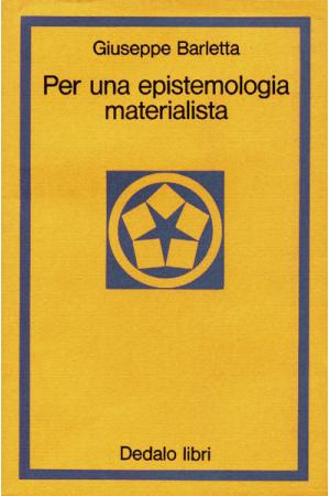 Per una epistemologia materialista