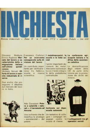 Inchiesta 7/1972