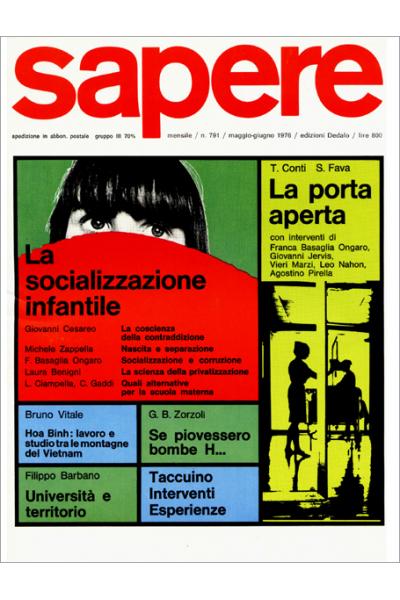 Sapere 791/1976