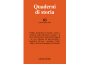 Quaderni di storia 83/2016