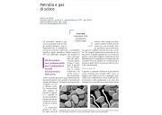 Petrolio e gas di scisto