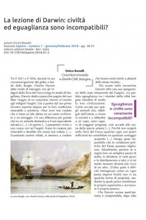 La lezione di Darwin: civiltà ed eguaglanza sono incompatibili?