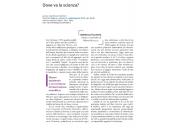 Dove va la scienza?