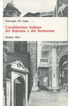 Architettura italiana del Seicento e del Settecento